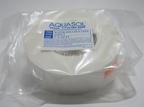 """AQUASOL H2O Soluble Purge Tape 2"""" x 300Ft"""
