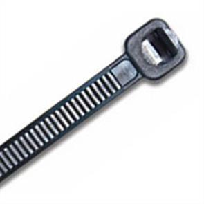 ISL 250 x 4.8mm UV Nylon Cable Tie - Blk. - 100pk