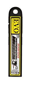 EVO Black Snap-Off Blades 18mm Pack10