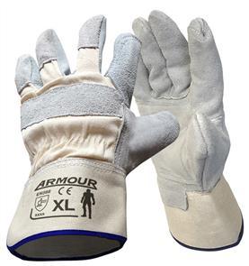 ARMOUR Buffer Gloves, Cowhide - XLarge LGWORKDP4