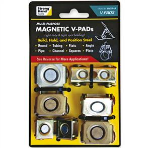 STRONGHAND Adustable Magnetic V Pads MVDF44