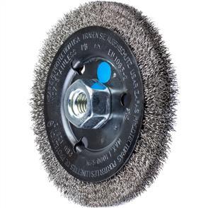 PFERD Wheel Brush, Crimped POS RBU 12512/M14 Inox 0,30