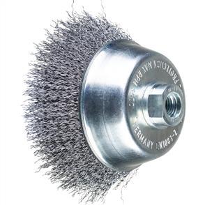 PFERD Threaded Cup Brush, Crimped POS TBU 100/M14 Steel 0,30