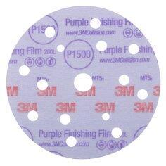3M Hookit 260L Purple Finishing Disc 150mm 15H 1500G
