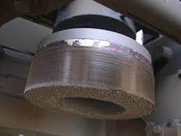 CUP Rail Grinding Wheel 155x75x56-w/Nuts 53mm-3NZ14 P5