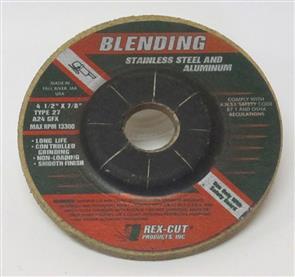 REXCUT D/C Grinding Disc T27 115x6.0x22mm A24 GFX