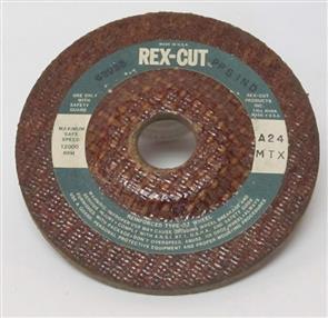 REXCUT D/C Grinding Disc T27 115x6.0x22mm A24 MTX