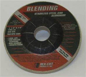REXCUT D/C Grinding Disc T27 115x6.0x22mm A80 GFX