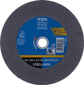 PFERD Inox Cut Off Disc 80T 400x2.8mm A36 PSF CHOP
