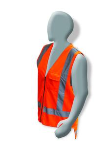 ARMOUR HI VIS TTMC-W Day/Night Vest XL HVODNZV34
