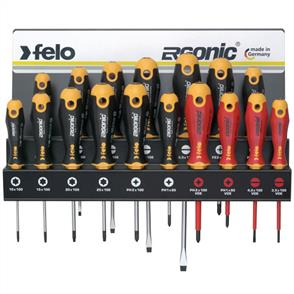 FELO Screwdriver Set 17Pce 400 Series