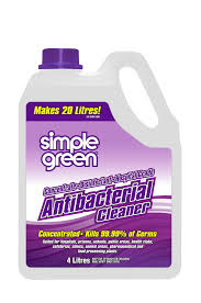SIMPLE GREEN Anti-Bacterial Cleaner Concentrate  4Ltr SG35003