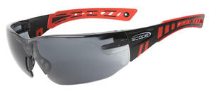 Scope Speed Glasses Red/Blk Titanium Smoke Lense 360RS