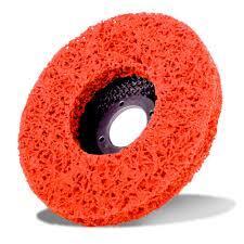 SAN Strip & Clean Disc  D/C  Orange 100mm