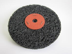 SAN Strip & Clean Disc Black 150x2 Washered