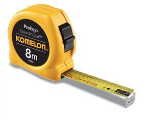 KOMELON TA3330 Tape Measure 8m x 25mm PE85 K74N