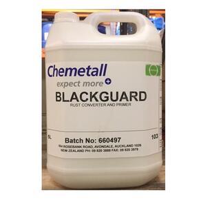 CHEMETALL Blackgaurd 1Ltr Rust Converter