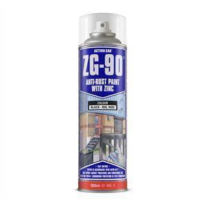 ACTION Anti-Rust Black (Zinc) ZG90 500ml
