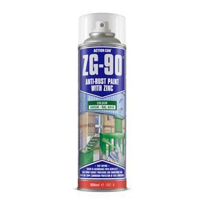 ACTION Anti-Rust Green (Zinc) ZG90 500ml