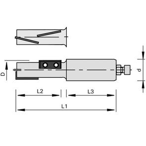 LEUCO SHEAR ANGLE TWO FLUTE FOR PANEL MATERIALS
