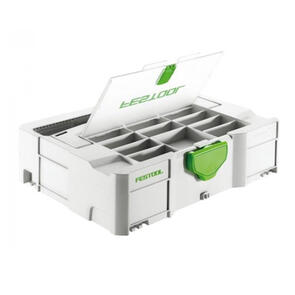 FESTOOL Systainer SYS 1 T-Loc Storage Box with Lid