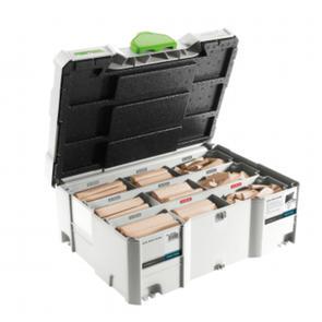 FESTOOL ACCESSORIES DOMINO XL Beech 8 mm / 10 mm Starter Systainer Set