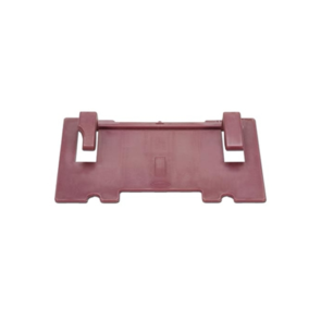 LAMELLO RED EXTENSION PLATE 2MM (75MM)