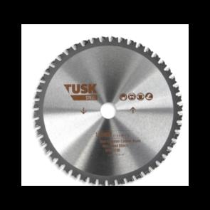 TUSK 185d x 48Z 1.6k TCT STEEL METAL CUTOFF BLADE